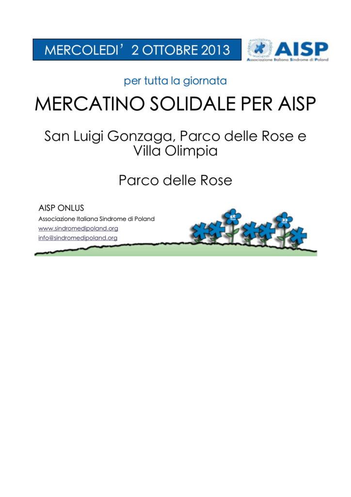 2013_Mercatino Solidale Roma 2013-1
